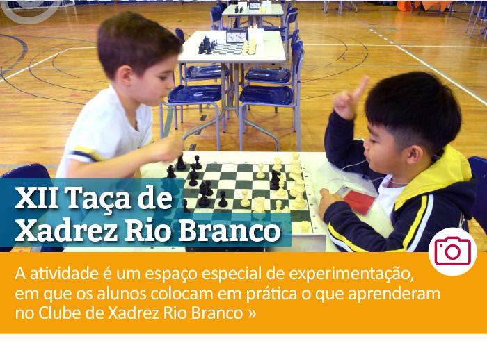 XII edição da Taça de Xadrez Rio Branco – segunda etapa