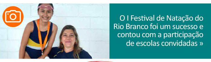 Festival de Natação do Rio Branco