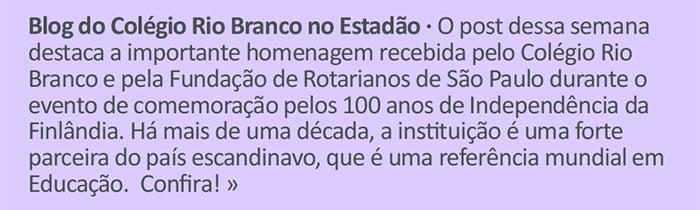 Blog do CRB no Estadão