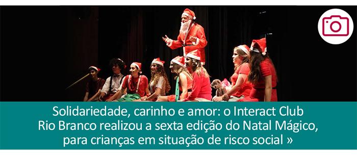 Natal Mágico: muita solidariedade e amor