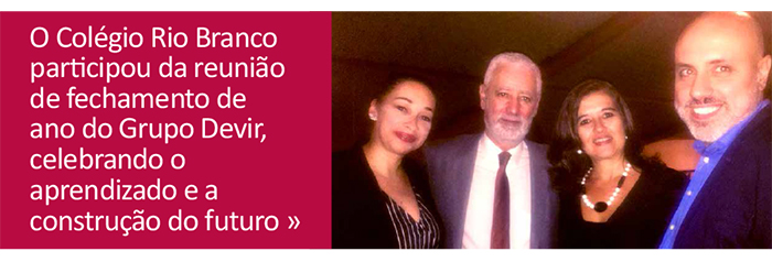 Rio Branco participa de reunião do Grupo Devir, com a presença de Antônio Nóvua