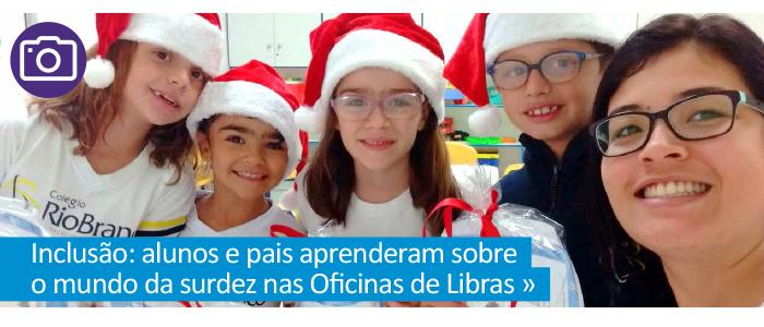 Oficina de Libras: alunos e pais aprendem sobre o mundo da surdez