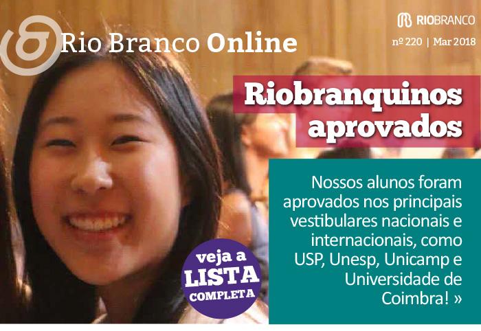 Rio Branco Online nº 220 - Riobranquinos Aprovados