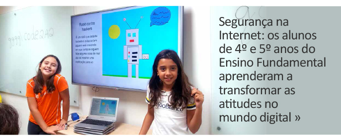Internet Segura: transformando atitudes