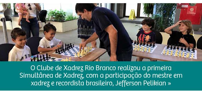 CRB realiza Simultânea de Xadrez