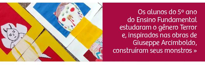 Língua Portuguesa e Artes: alunos estudam o gênero Terror e constroem seus monstros