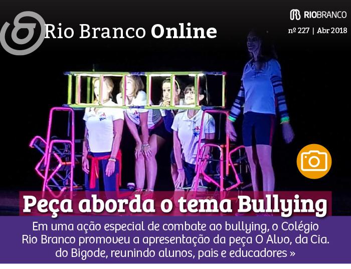 Rio Branco promove espetáculo de teatro sobre bullying