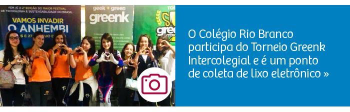 Rio Branco participa do Torneio Greenk Intercolegial