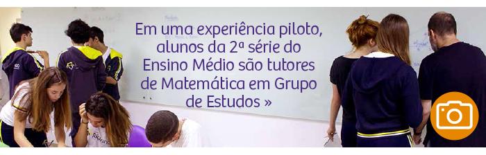 Grupo de Estudos: Tutoria em Matemática