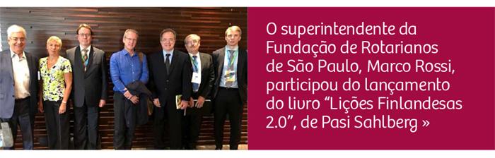"""Superintendente da FRSP participa de lançamento do livro """"Lições Finlandesas 2.0"""""""