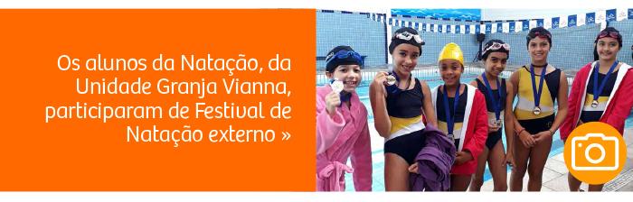 Rio Branco participa de Festival de Natação externo