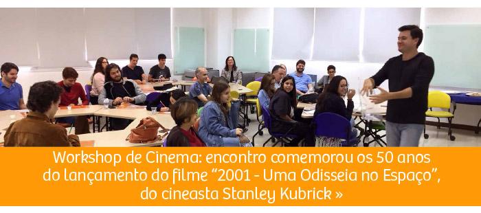 Rio Branco realiza Workshop de Cinema: especial Stanley Kubrick
