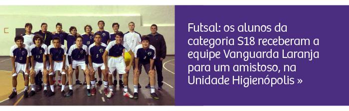 Futsal: amistoso no Rio Branco