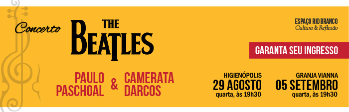 Concerto: The Beatles com Paulo Paschoal & Camerata Darcos
