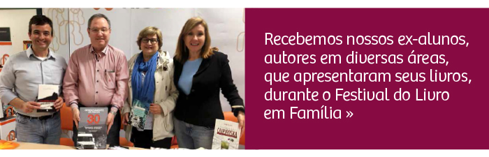 Rio Branco recebe ex-alunos autores