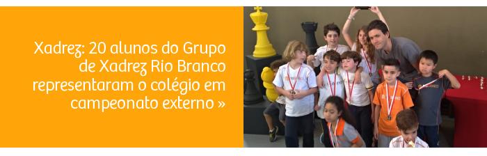Xadrez: alunos participam de torneio externo