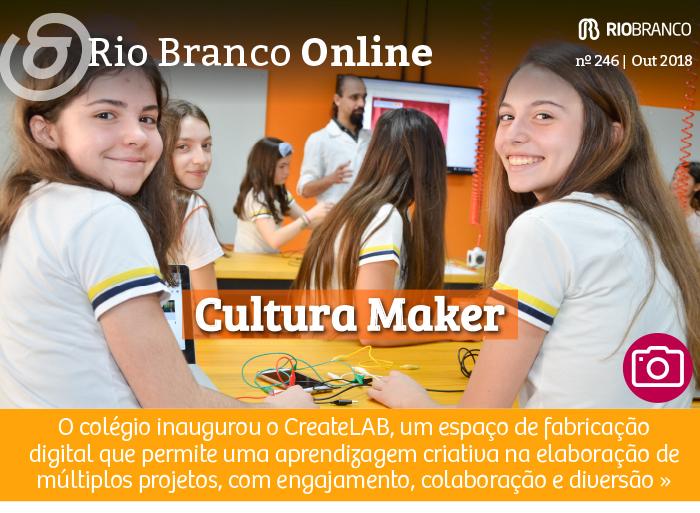 Cultura Maker: Rio Branco inaugura CreateLAB