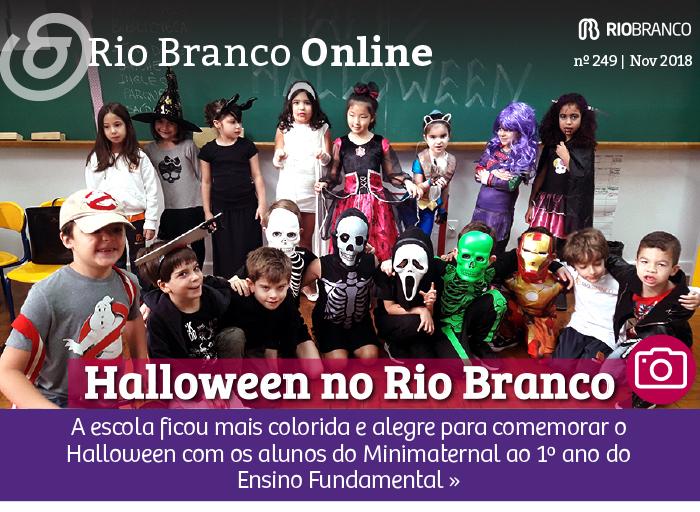 Halloween no Colégio Rio Branco