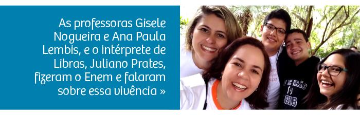 Professoras do Rio Branco fazem o Enem e falam sobre a vivência