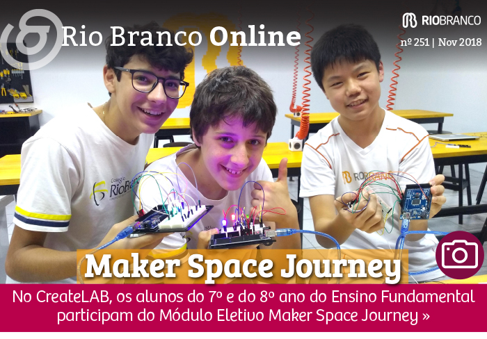 Módulo Eletivo: Maker Space Journey