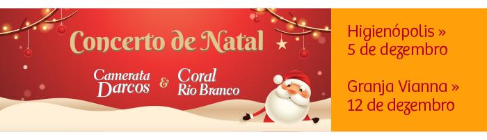 Concerto de Natal - Camerata Darcos e Coral Rio Branco