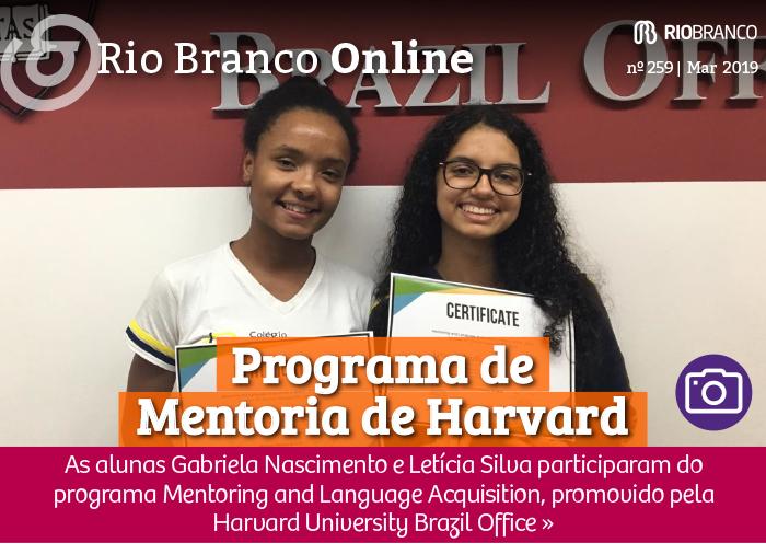 Alunas concluem programa de mentoria de Harvard