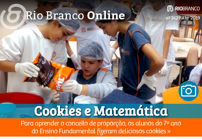 Cookies e Matemática: alunos estudam conceito de proporção