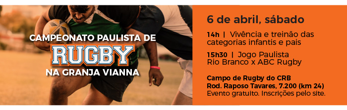 Campeonato Paulista de Rugby na Granja Vianna