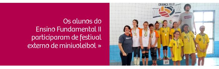 CRB participa de Torneio de Minivoleibol