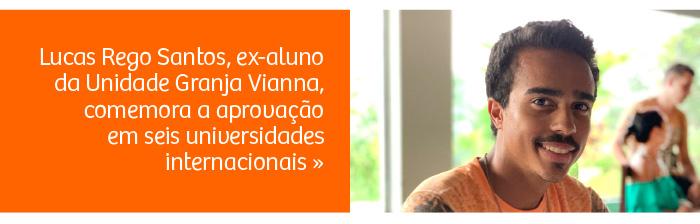 Riobranquino é aprovado para o curso de Business Administration em seis universidades americanas