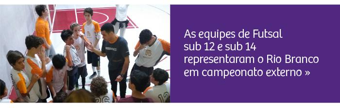 Futsal: alunos participam de campeonato externo