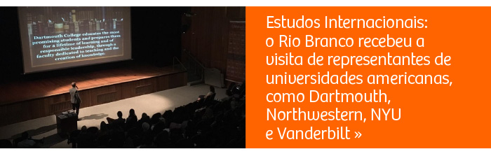 Estudos Internacionais: Rio Branco recebe visita de representantes de instituições americanas