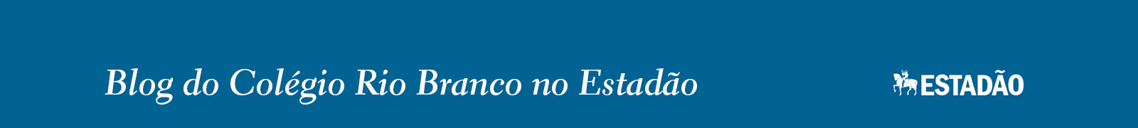 Blog do Colégio Rio Branco no Estadão
