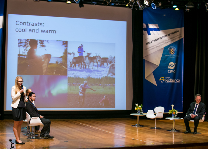 Colégio Rio Branco promove palestra sobre Ensino Superior na Finlândia