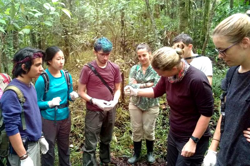Alunas integram expedição científica para Honduras
