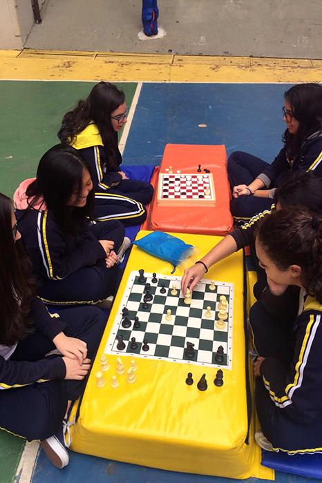 Educação Física: Jogos de Tabuleiro