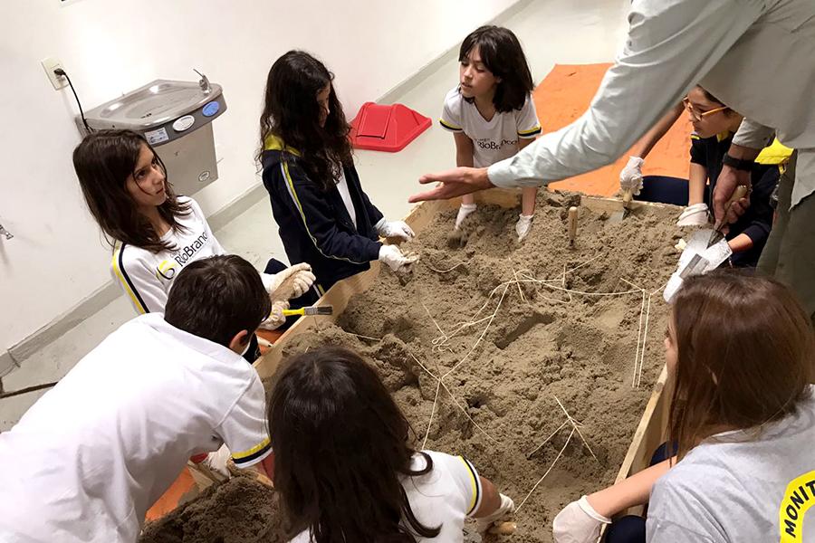 Módulo Eletivo: Oficinas de Arqueologia - Unidade Higienópolis