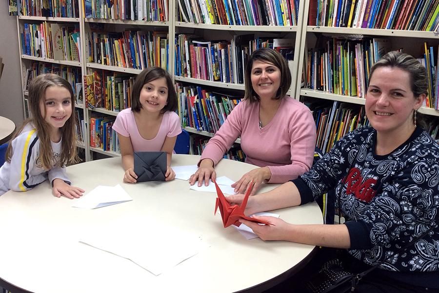 A Cultura Japonesa foi valorizada nas aulas de Geografia, que contaram com uma oficina de Origami.