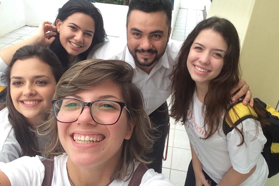 Despedida especial dos alunos da 3ª série do Ensino Médio - Granja Vianna