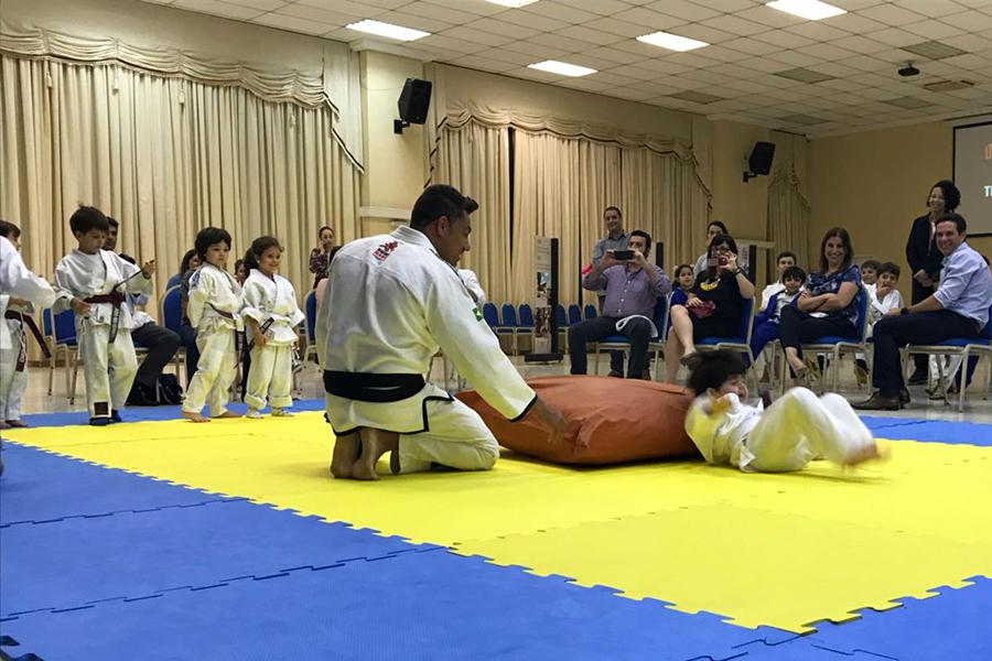 Troca de Faixa do Judô Rio Branco