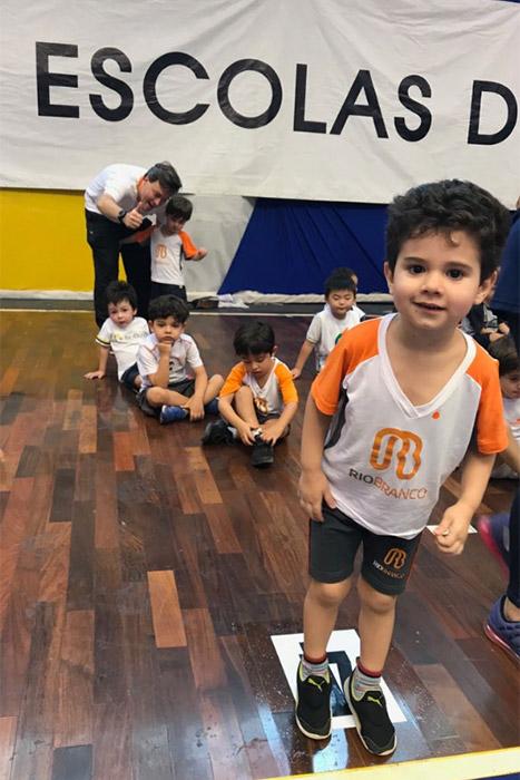 Rio Branco marca presença nas Olimpíadas do Hebraica e conquista medalhas