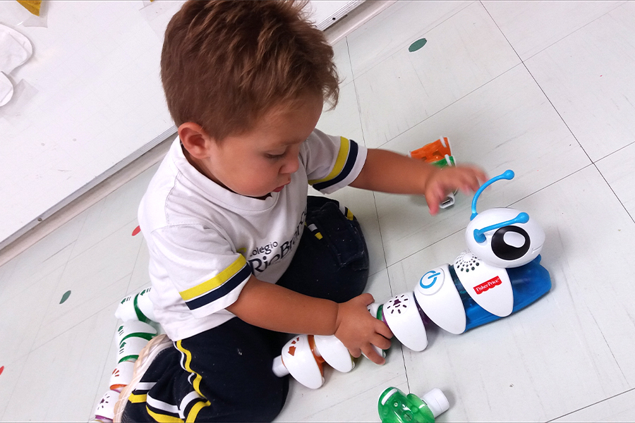 Alunos da Educação Infantil aprendem a fazer programação