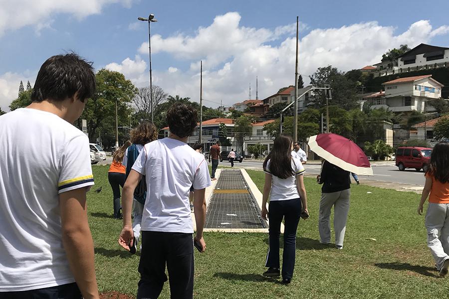 SOS Mata Atlântica: alunos monitoraram a qualidade da água do córrego Pacaembu