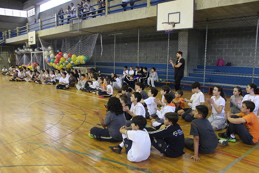 Alunos do Rio Branco participaram da competição esportiva Tango Mania
