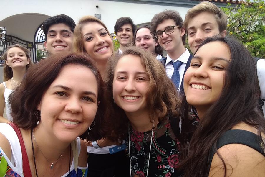 Alunos representam o Rio Branco nas simulações da MiniONU 2018