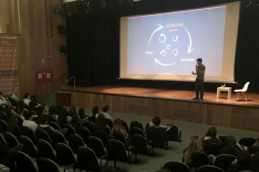 Enem: palestra inspiradora e muitas atividades de integração