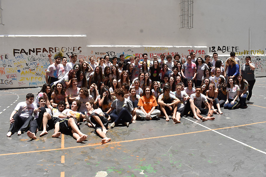 Despedida especial dos alunos da 3ª série do Ensino Médio