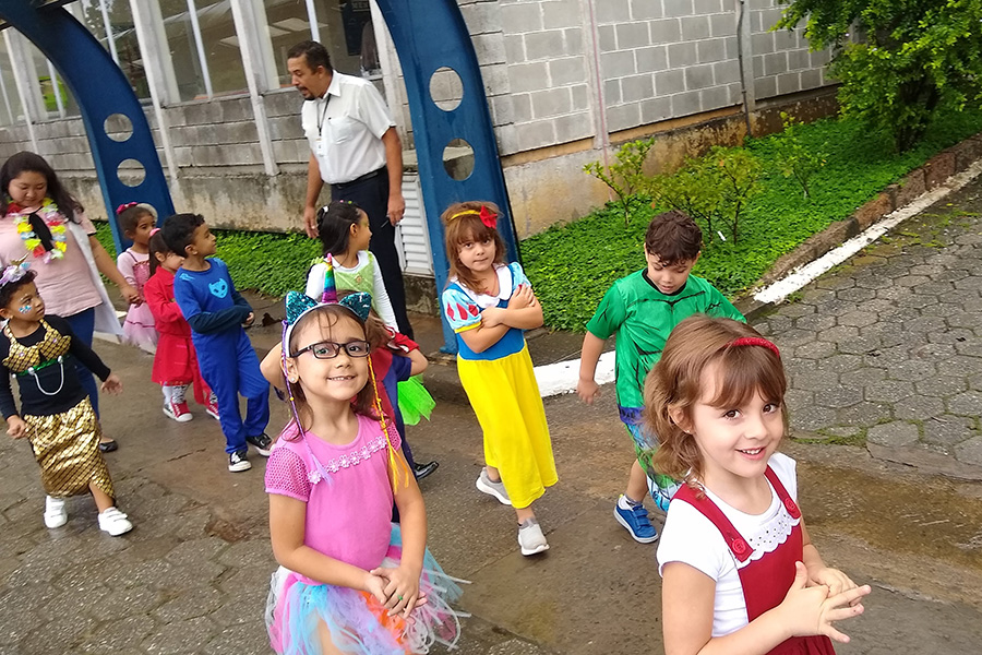 Baile de Carnaval no Rio Branco