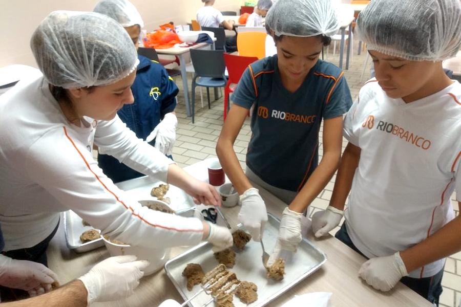 Cookies e Matemática - Granja Vianna