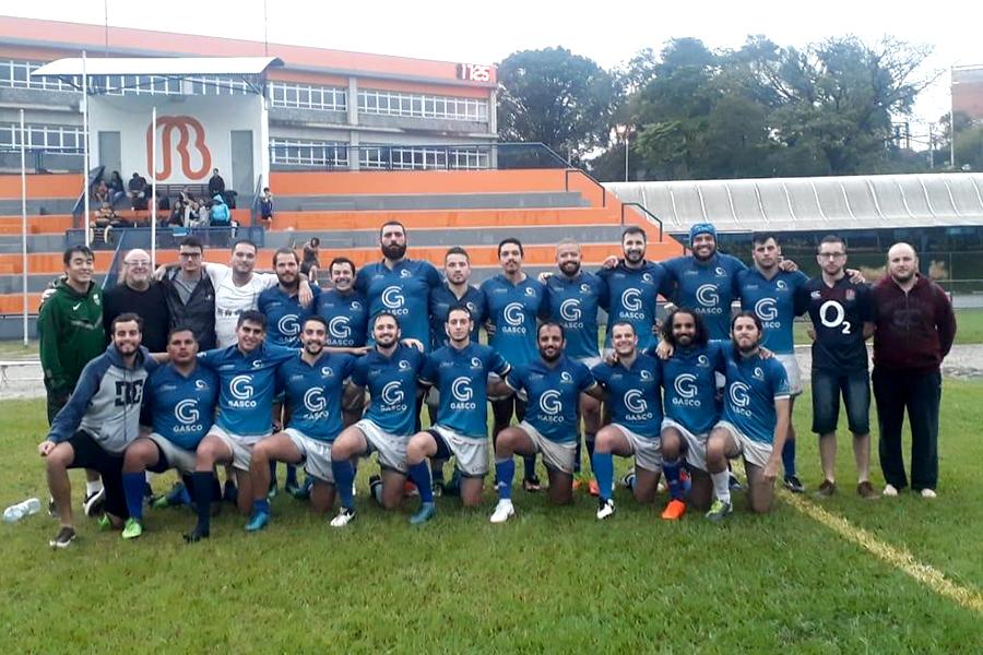 Rio Branco sedia jogo do campeonato paulista de Rugby